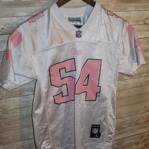 youth pink patriots jersey